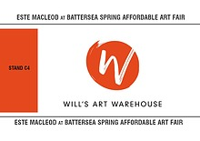 Este MacLeod at Battersea Affordable Art Fair