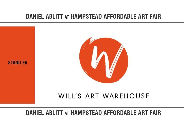 Daniel Ablitt at Hampstead Affordable Art Fair '19 1