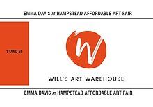 Emma Davis at Hampstead Affordable Art Fair '19