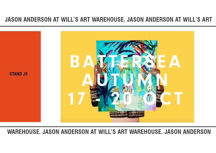 Jason Anderson at Battersea Affordable Art Fair 1