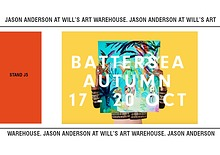 Jason Anderson at Battersea Affordable Art Fair