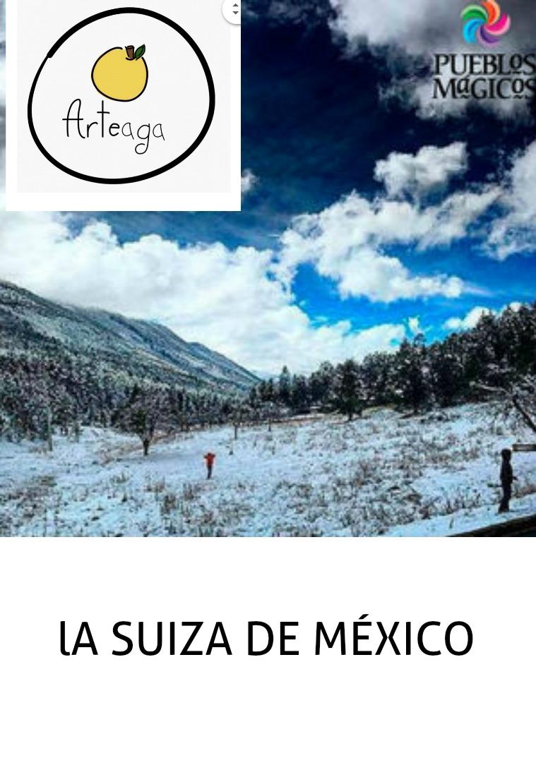 La Suiza de México REVISTA DE ESPAÑOL