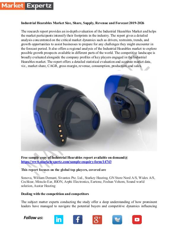 My first Publication Industrial Hearables