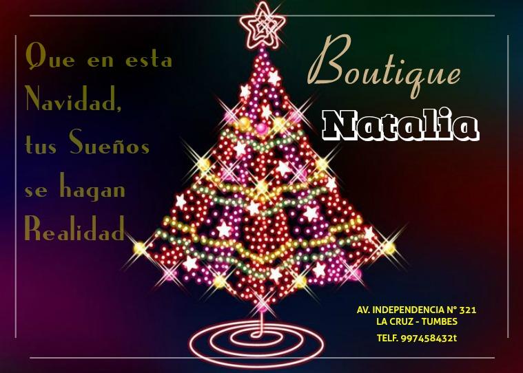 Catalogo Navidad 2018 BOUTIQUE NATALIA