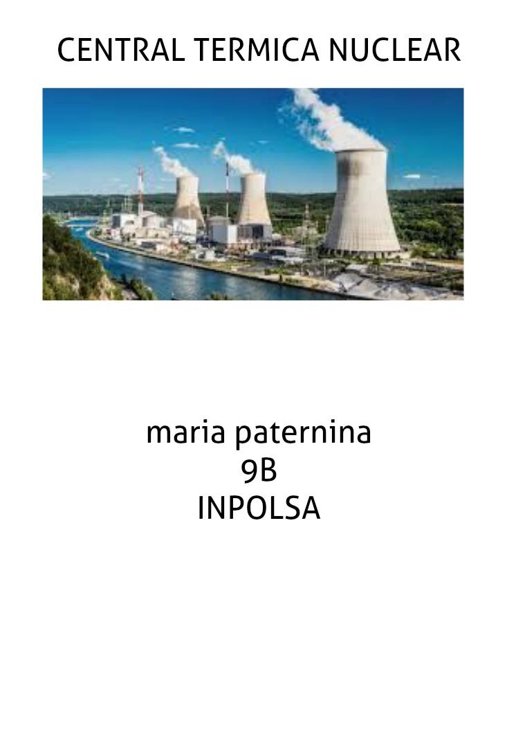central termica nuclear CENTRAL NUCLEAR