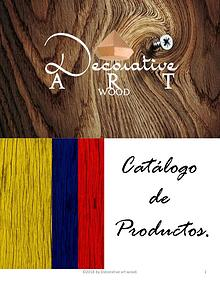 catalogo decorative art wood