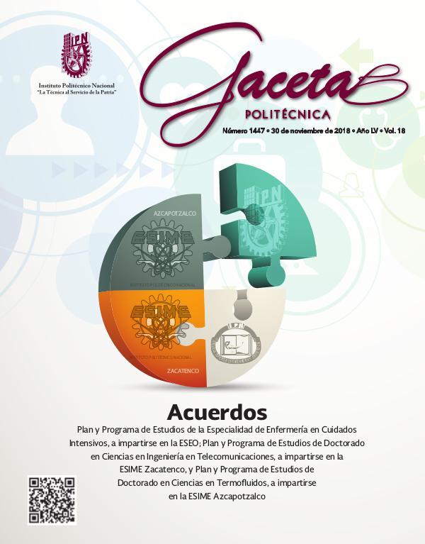 Gacetas Politécnica 1447 GacetaExtra_1447