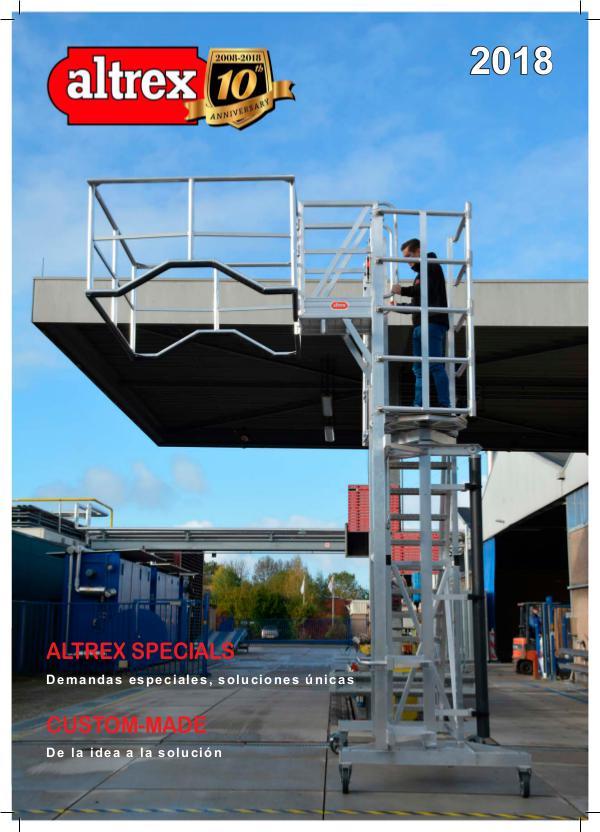 Catálogo de Escaleras Especiales 2018 Altrex Specials 2018
