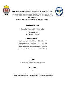 Manual de Exportación Semillas de Marañón