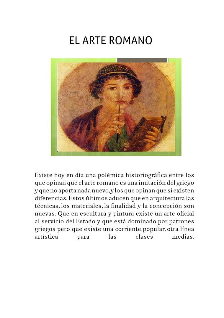 Pintura de la Antigua Roma pintura romana