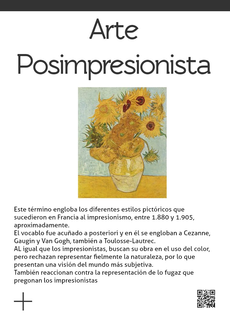 Pos impresionismo - Neo impresionismo El posimpresionismo es un estilo histórico artísti