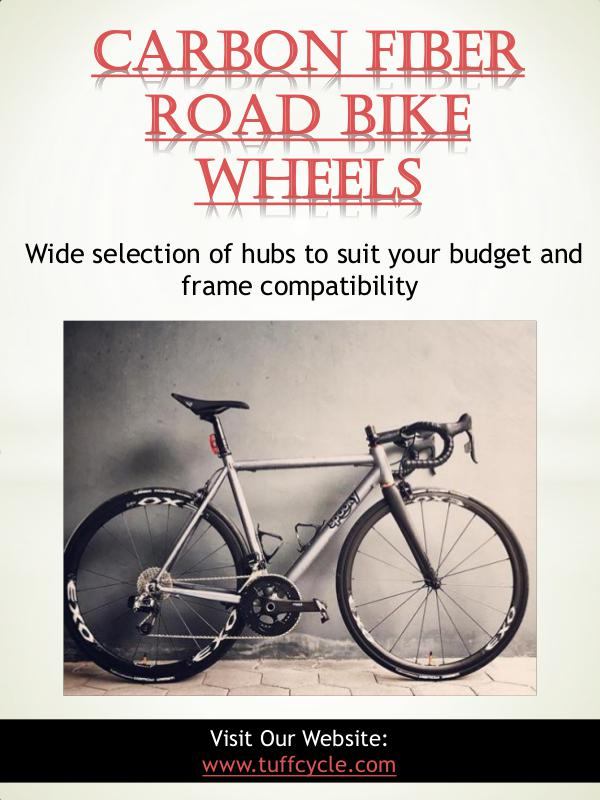 Carbon Fiber Road Bike Wheels | tuffcycle.com Carbon Fiber Road Bike Wheels