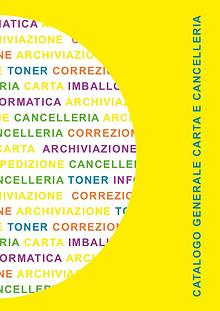 Catalogo carta e cancelleria