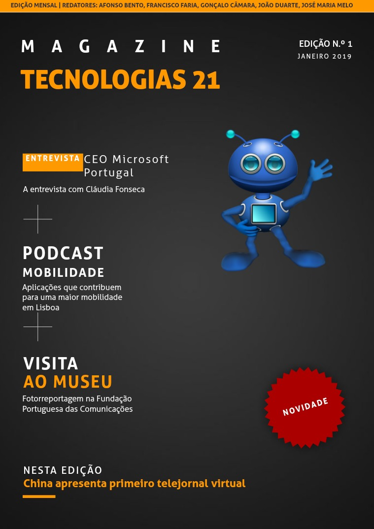 Tecnologias 21 - 1º volume