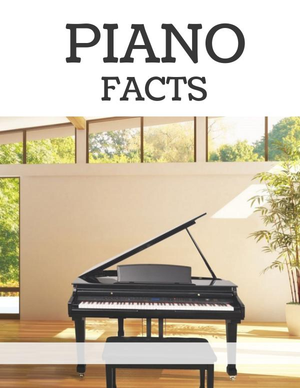 Piano Facts Piano Facts