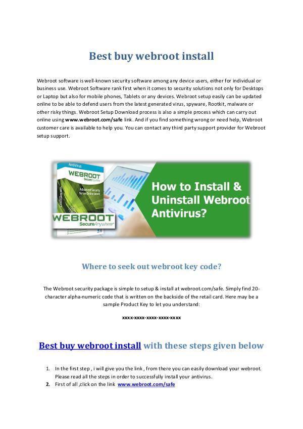 best buy webroot install Best buy webroot install