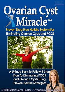 Ovarian Cyst Miracle PDF EBook Free Download