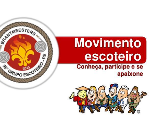 Escoteiros Brantmeesters Resumo bienio 2017-2018