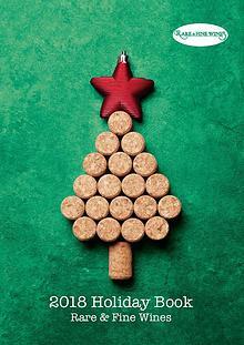 Rare & Fine Wines Holiday Book 2018