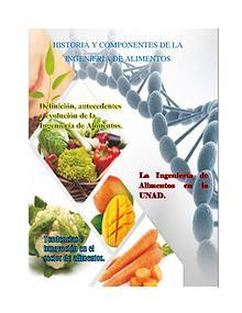 Mi primera revista ingeniería de alimentos