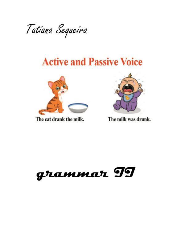 passive voice education Passive voic2