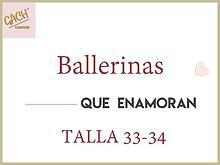 BALLERINAS 33-34