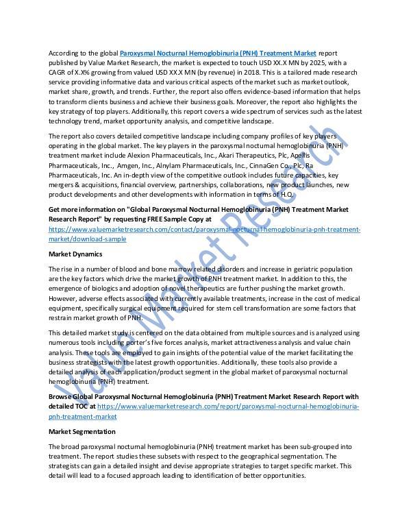 Paroxysmal Nocturnal Hemoglobinuria Treatment