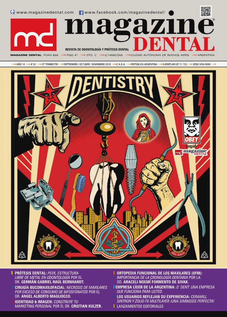 MAGAZINE DENTAL Edición 52 Sep-Oct-Nov 2019