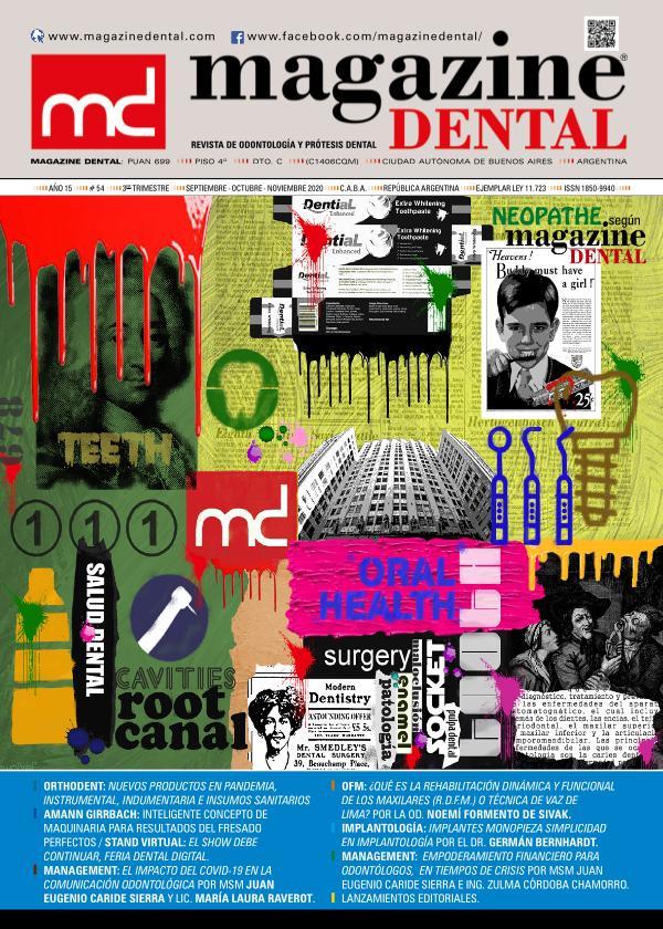MAGAZINE DENTAL Edición 54 - Sep-Oct-Nov 2020