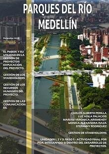 Artículo Parques del Río Medellín