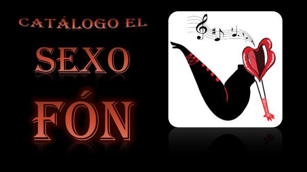 Catálogo Sexofón CATALOGO SEXOFON PDF