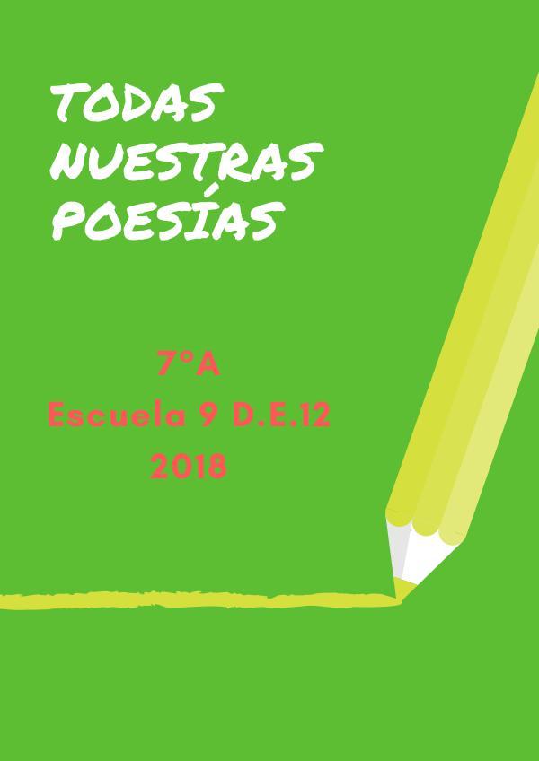 Poesía Poesía 2018