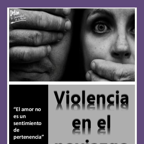 Violencia en el noviazgo Proyecto final Lucero