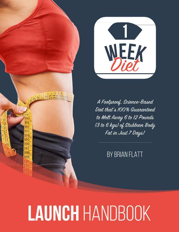 The 1 Week Diet PDF - 1 Week Diet Book Download The 1 Week Diet PDF