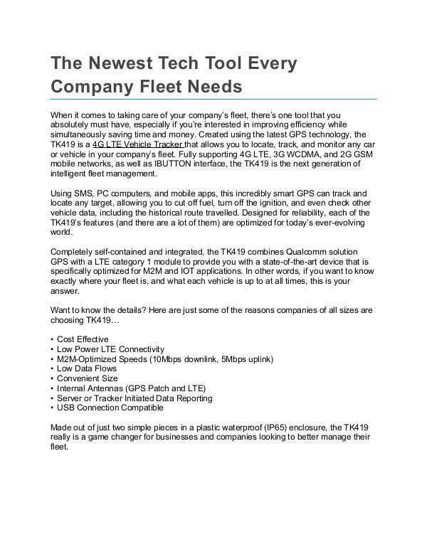 My first work The_Newest_Tech_Tool_Every_Company_Fleet_Needs