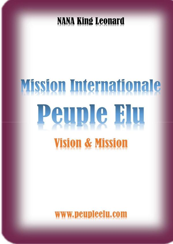 Mission Internationale Peuple Elu