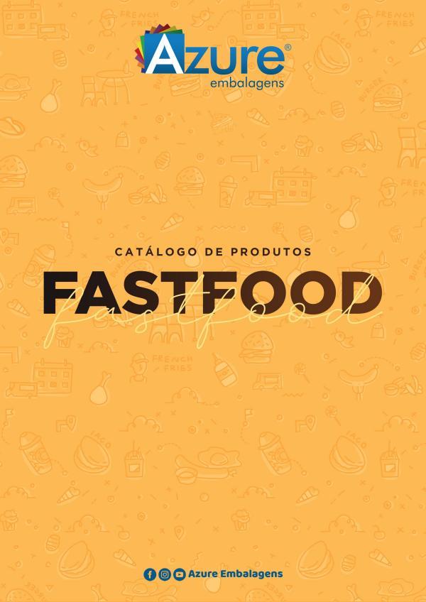 Azure Embalagens CATÁLOGO FAST FOOD 2019