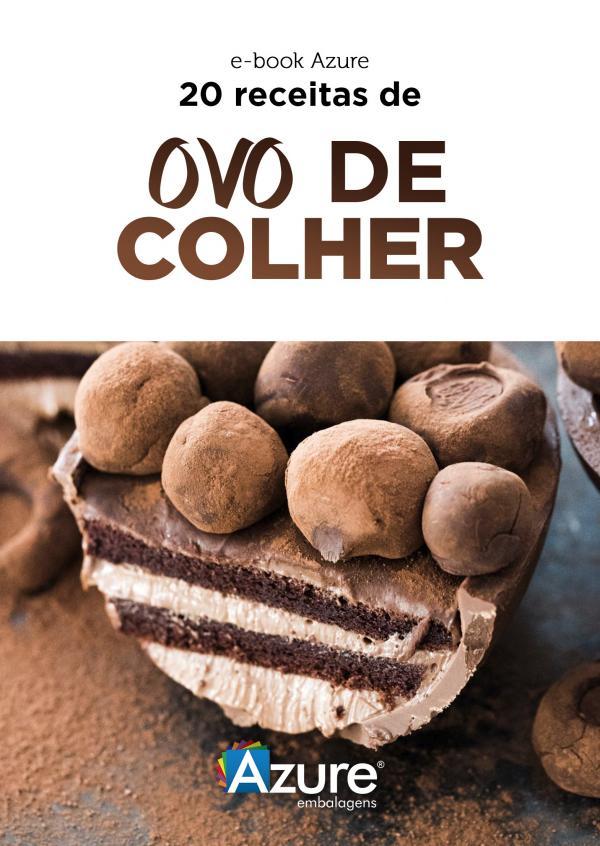 e-Books Azure Embalagens (e-Book) 20 Receitas de Ovo de Colher