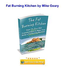 The Fat Burning Kitchen Mike Geary book PDF download