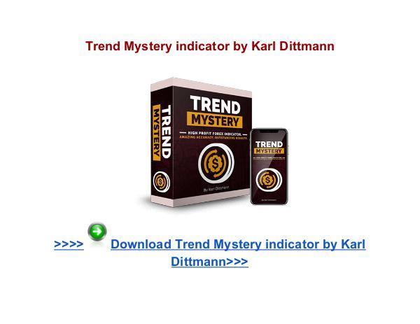 Karl Dittmann Trend Mystery Indicator Trend Mystery forex indicator Karl Dittmann