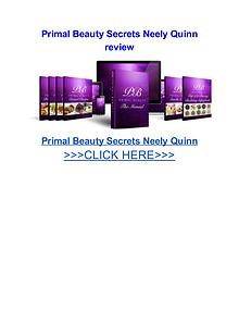 Primal Beauty Secrets Neely Quinn