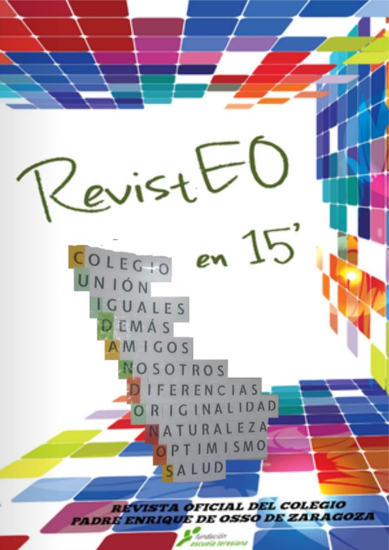 RevistEO 15' Junio 2019. Año 4. Número 12