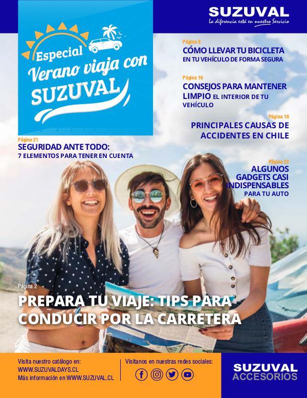 Catálogo Edición verano viaja con Suzuval Revista catálogo Especial Verano Viaja con Suzuval