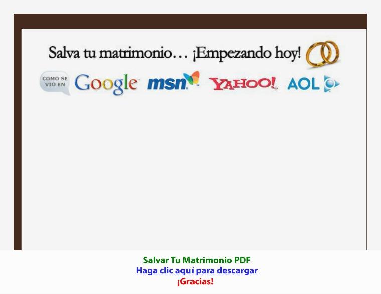 Salvar Tu Matrimonio [PDF]