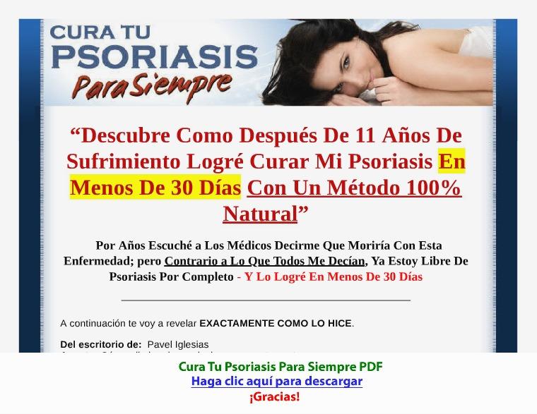Cura Tu Psoriasis Para Siempre [PDF]