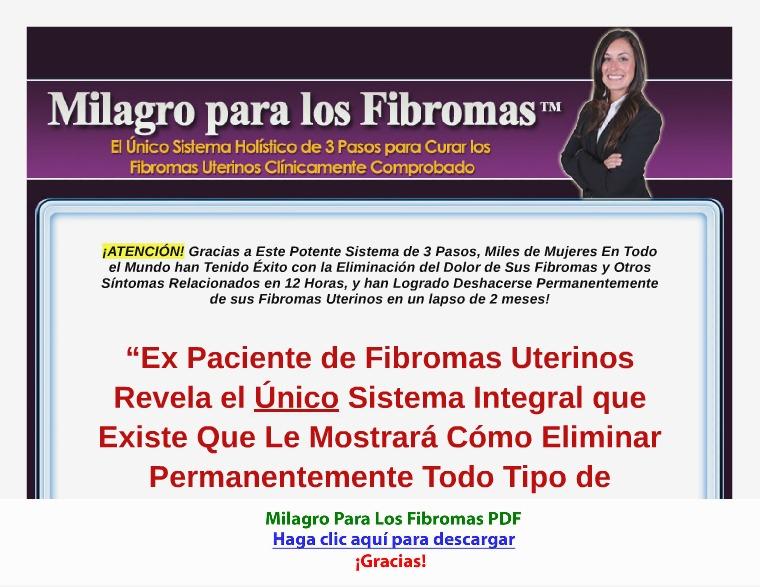 Milagro Para Los Fibromas [PDF]