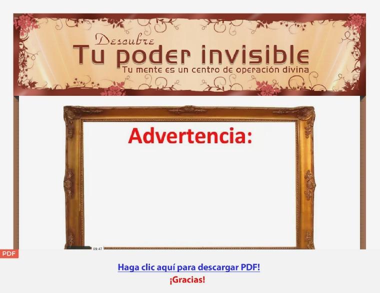 Descubre Tu Poder Invisible [PDF] Descubre Tu Poder Invisible
