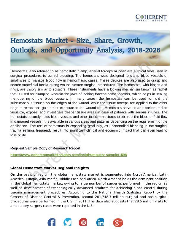 Hemostats Market 1