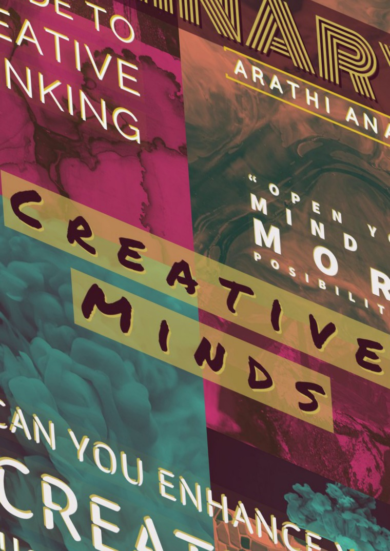 My first Magazine Creative Minds
