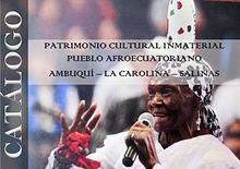 Patrimonio cultural inmaterial del pueblo afroecuatoriano
